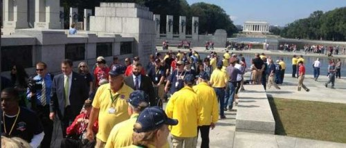 Honor Flight Yellow Shirts
