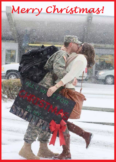 Soldier Home for Christmas